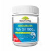 Minyak Ikan Natures Way Odourless Fish Oil 1000 mg 450 Kapsul
